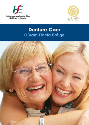 Publication cover - Denture Care Leaflet