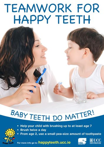 Publication cover - Happy Teeth A3 poster3