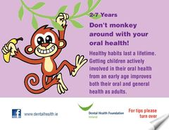 Publication cover - Child 2-7 Dental Postcard