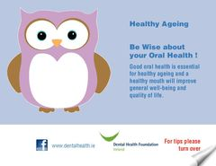 Publication cover - Healthy Ageing Dental Postcard