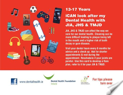 Publication cover - iCan Teens 13-17 Dental Postcard FINAL